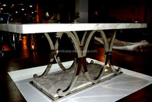 8 seater marble top dining table