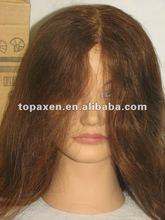 Pivot Point ERIKA Cosmetology Training Mannequin Head,100% Human Hair