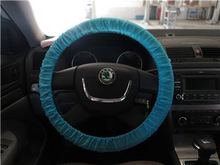 low MOQ welcome car steering wheel cover pink