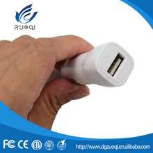 Excellent PC material electric 9V 2A car USB charger for iPhone 6S, iPhone 6 Plus