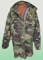 Army / Military Camoflage Jacket Parka Complete with Liner M97