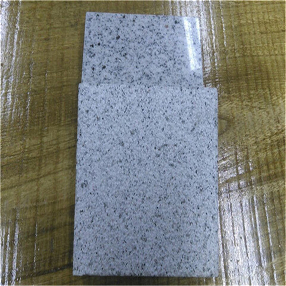 Shandong G365 White Granite, flamed brushed granite