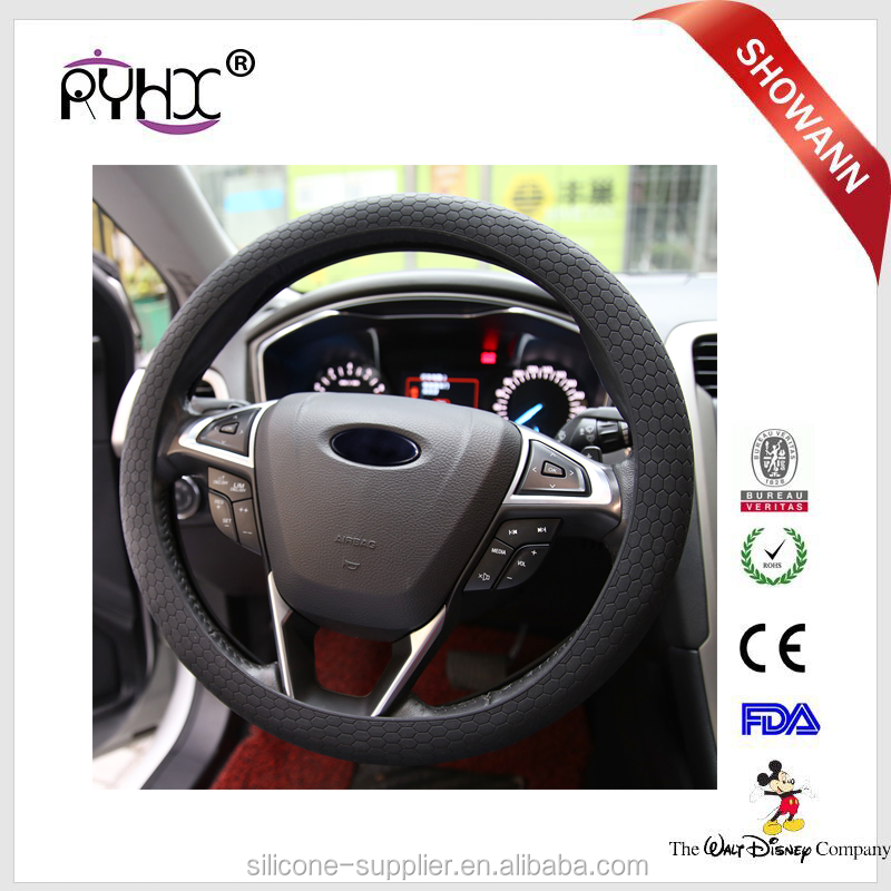 Best Eco-Friendly Silicone Folding Magnetic Promotional Rubber steering wheel covers for cars