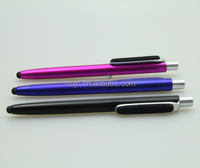 New multi functional screen cleaner ball pen with stylus