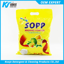 cheap price ! 2017 hot sale bright color washing powder detergent powder from konje factory