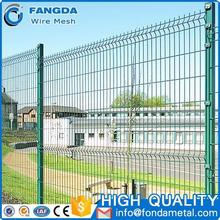 2016 China new design parking lot protection 3d welding wire mesh fence