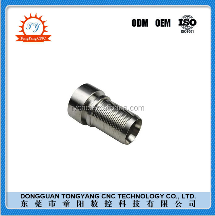 ODM/OEM TYCNC Stainless steel anti-slip through thread connector Stainless steel taper sleeve