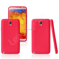 Factory Price Luxury Quality Mix Coler Silicon Cover Case for Samsung Note3, for Note 3 Silicon Case