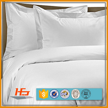 White Hotel Bed Linen Cotton Polyester Comforter Bedding Set Wholesale