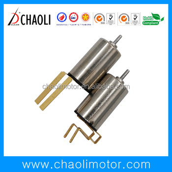 Coreless vibrating motor CL-0610-V 3v driving motor high speed 12000rpm