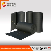 silicone rubber adhesive sheet/ Rubber Foam Insulation roll/blanket/board