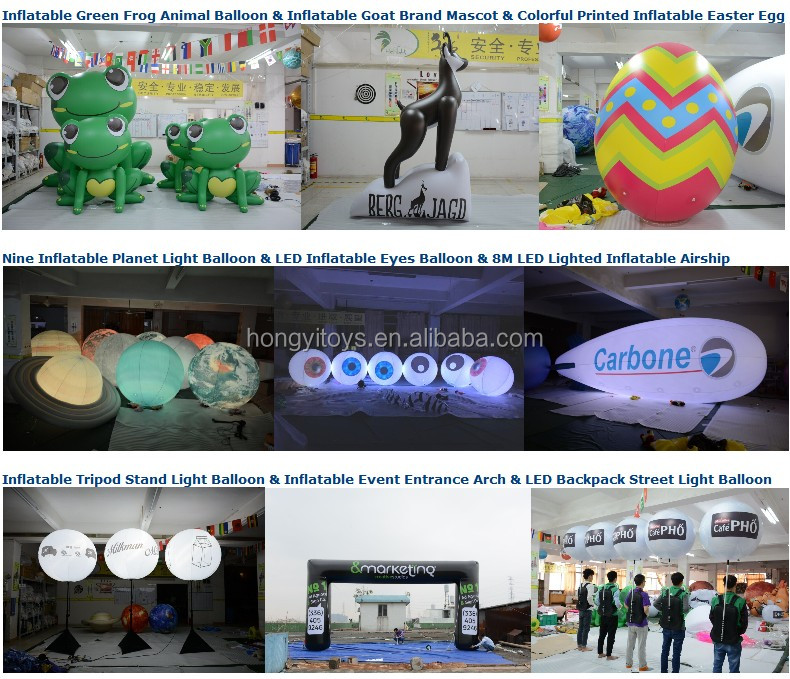 High Quality Factory Advertising Inflatable Robot Toy Balloon For Event Decoration