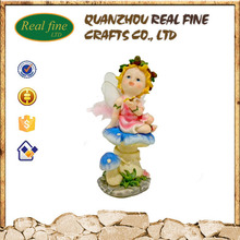 High quality cheap resin mushroom fairy for gift