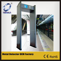 Walk Through Metal Detector TX-200A Survelliance and Security Door Frame Metal Detector Gate