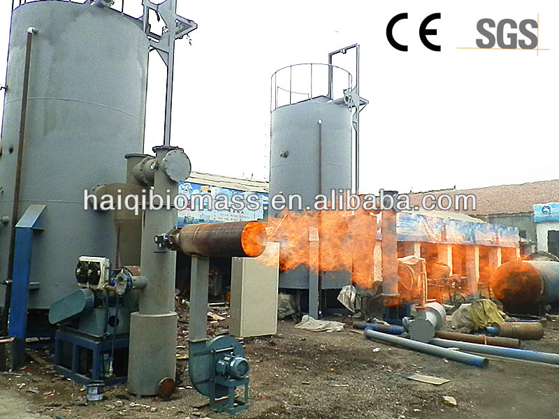 Hot sale reliable quality good service plastic gasifier