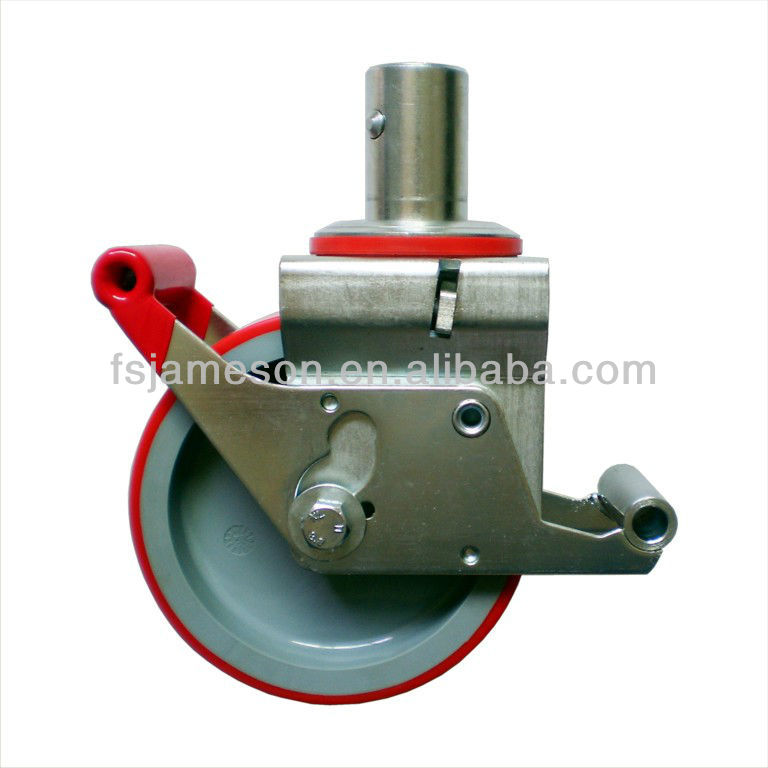 Industrial construction scaffolding caster