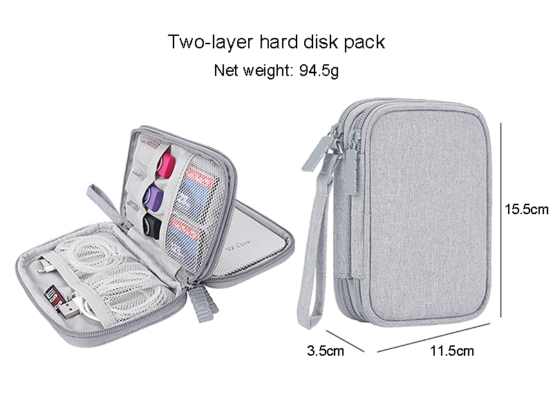 BUBM The Cheap Good Quality Portable Hard Disk Case