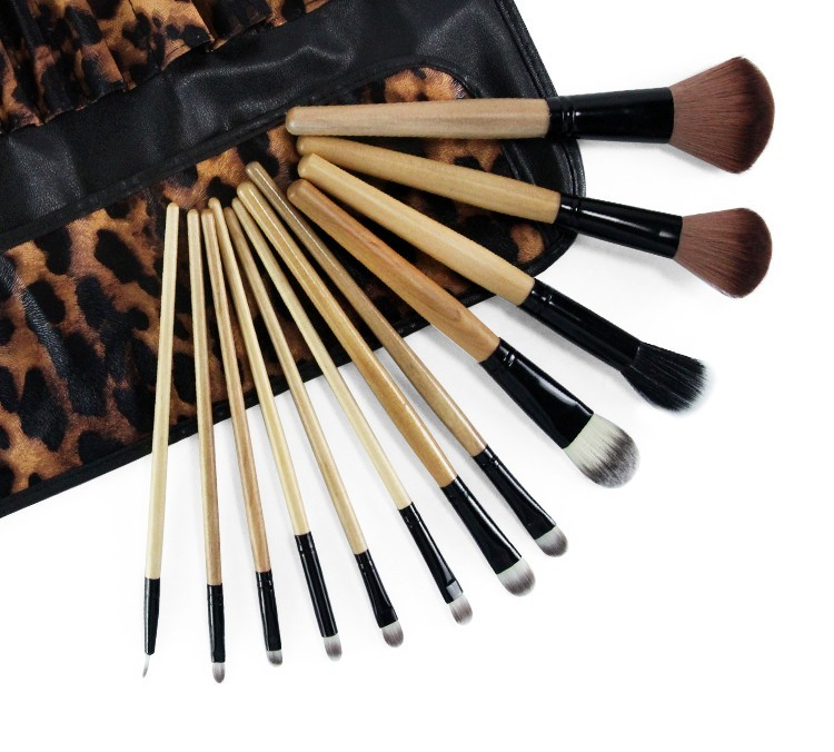5pcs Brand 12pcs Professional Makeup Powder Brushes Set Makeup Eyeshadow Foundation Brush Cosmetics Blusher Blush Brush Sets