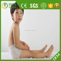 private label transparent plastic pants for boy A grade baby nappy
