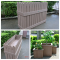 WPC outdoor eco-friendly High and large flower pot