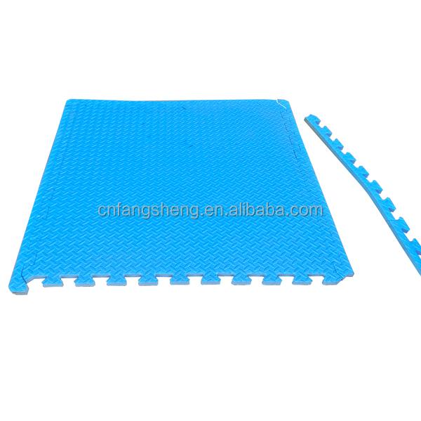 25cm thickness wood grain high durable taekwondo matsnew design gym mats china