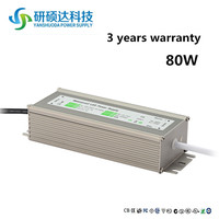 Best selling products 80w constant current led driver,led flood light power supply,36v waterproof electronic led driver