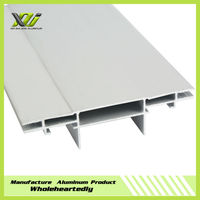 Frameless aluminium profile for advertising light box fabric frame