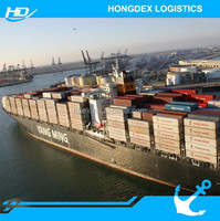 sea freight charges China to India New Delhi