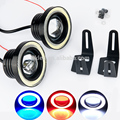 Factory direct COB 2.5/3/3.5 inches projector suv jeep wrangler rock lights led angel eyes lamps