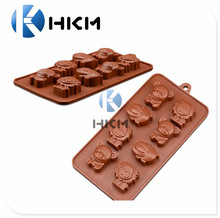 chocolate candy molds, Lions/bears/hippos- Animal silicone molds for ice, candy, chocolate, jellos, gummies, crayons
