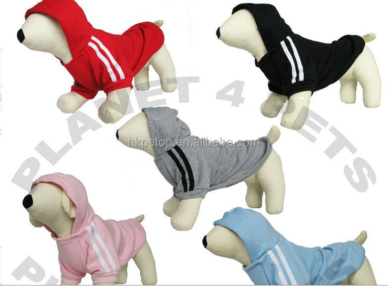 Plain Blank Solid Color Fleece Dog Clothes
