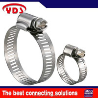 Stainless Steel hose clamp radiator hydraulic hose clamp
