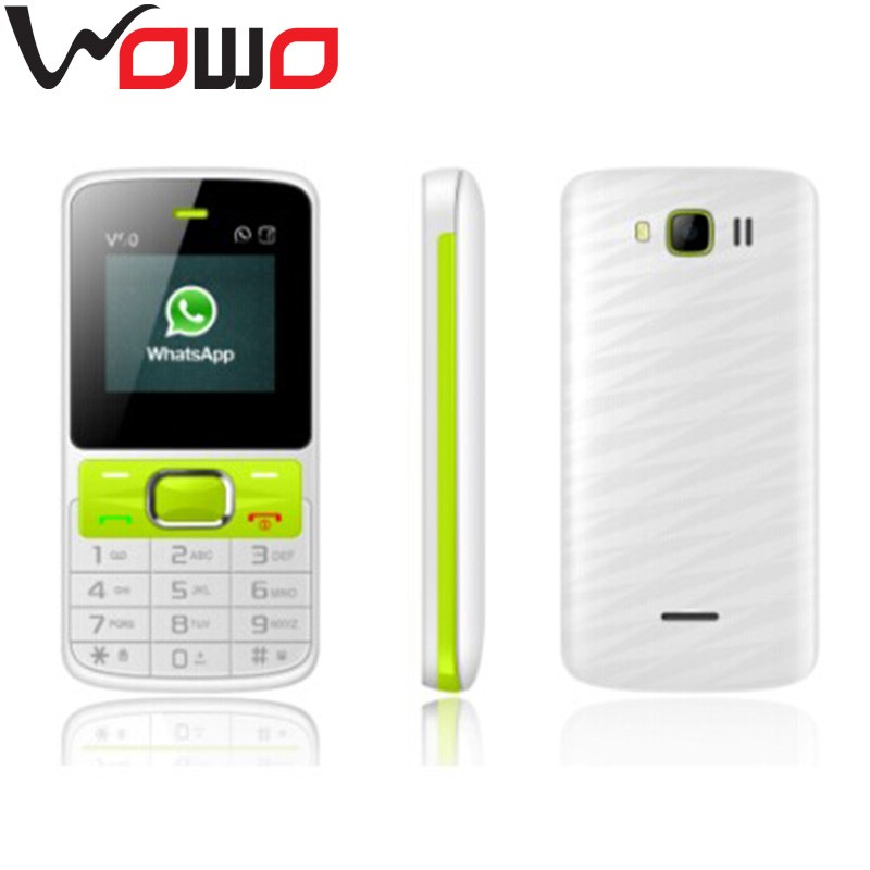 bar design v90 low price China Mobile phone with whatsapp facebook OEM factory