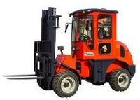 Off road fork lift truck