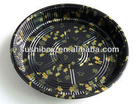 Disposable take away Party tray sealable plastic sushi fruit tray