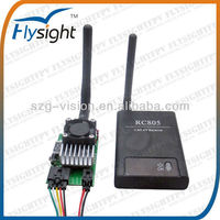 C203 Low power cost FPV 2000mw wireless AV TX RX for RC helicoptero