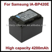 For Samsung 3200mah sharp camcorder battery IA-BP420E