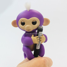 new arrival children toy 6 Colors Electronic Finger Pet Baby Toy Interactive Fingerling Monkey Toys