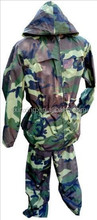 Italian Camo Rain Set military rainsuit