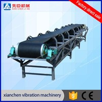 belt conveyor system for continuous conveying