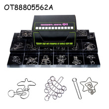 Intelligence Chinese metal wire mind puzzles toy OT88805562A