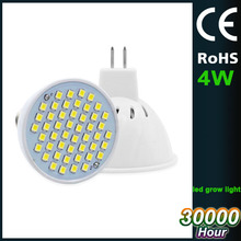 CE RoHS approved MR16 led ,3000K,4000K,5000K non dimmable 4W mr16 led spotlight