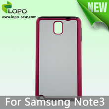 2014 new trendy Sublimation TPU 2in1 cover for Samsung Note 3
