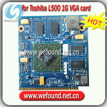 Hot! laptop 1G VGA card LS-5001P for Toshiba L500 motherboard