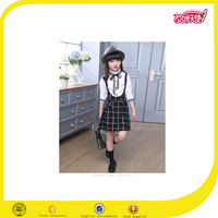 2016 kids clothes fashion dress girls schoo band uniform designs for girls