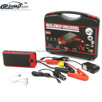 Car battery booster cable jump start