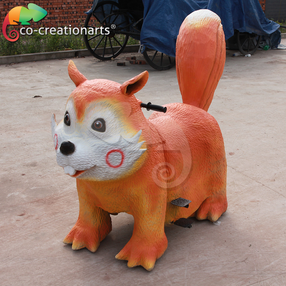 Hot sale kids electric animal car
