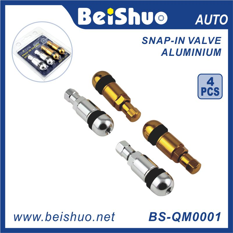 4pcs Aluminium Alloy Auto Tire Valve/Car Accessories/Automobile Parts/Tr413Tr414Tr415tr416