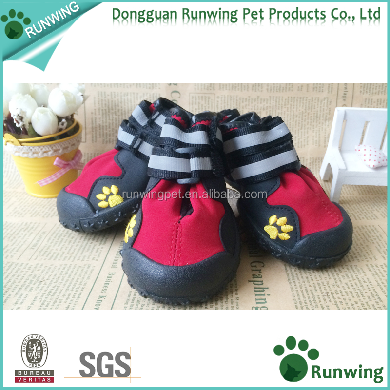Waterproof Dog Shoes 4 pcs, dog boots for Medium to Large Dogs, paw wear for dogs