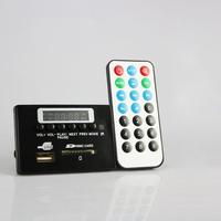 Infrared remote control fm radio mp3 decoder circuit board